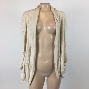 Prana Georgia Wrap Cardigan Sweater Medium OO22